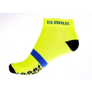 Фото Носки ARAD (ARAD-NEON YELLOW/BLK/BLUE), Цвет - желтый, черный, синий, Носки
