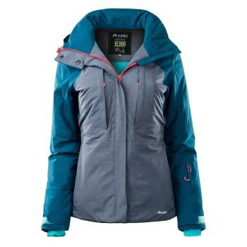 Фото Куртка горнолыжная KAI WO'S (KAI WOS-INK BLU MLNG/GRE MLNG), Цвет - синий, серый, Горнолыжные и сноубордные