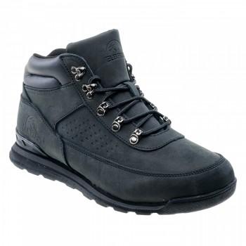 Фото Ботинки KALEM MID (KALEM MID-BLACK), Цвет - черный, Городские ботинки