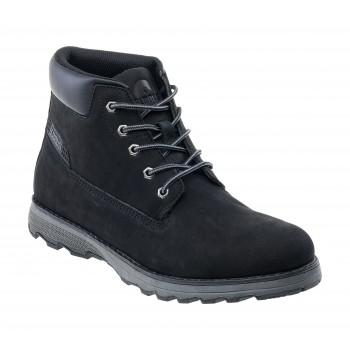 Фото Ботинки NAVID MID (NAVID MID-BLACK), Цвет - черный, Городские ботинки
