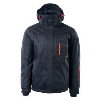 Фото Куртка горнолыжная NOAM (NOAM-ANTHRACITE/SPICY ORANGE), Цвет - серый, оранжевый, Горнолыжные и сноубордные