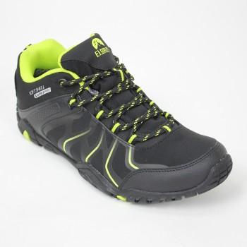 Фото Полуботинки текинговые RADLEY (RADLEY -BLACK/LIME/LT GREY), Цвет - черный, лайм, серый, Треккинговые ботинки