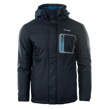 Фото Куртка горнолыжная BICCO (BICCO-ANTHRACITE/CORSAIR), Цвет - серый, синий, Горнолыжные и сноубордные