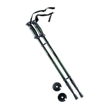 Фото Треккинговые палки BLACKWAY (BLACKWAY-BLACK/GREEN), Цвет - черный, зеленый, Палки