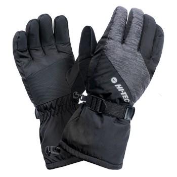 Фото Перчатки горнолыжные ELIM (ELIM-BLACK), Цвет - черный, Горнолыжные перчатки
