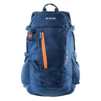 Фото Рюкзак туризм FELIX 25L (FELIX 25L-INSIGNIA BLUE/ORANGE), Цвет - синий, Туристические рюкзаки