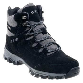 Фото Ботинки HAIKU MID (HAIKU MID WP-BLACK), Цвет - черный, Городские ботинки