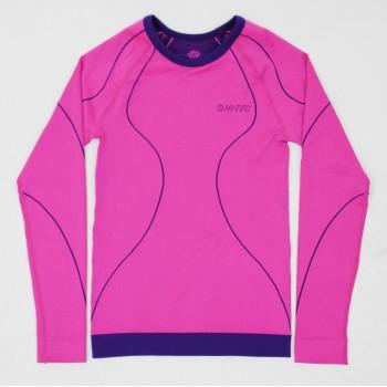 Фото Фуфайка IBAR TOP JRG (IBAR TOP JRG-FLU PNK/DP BLU), Цвет - розовый, синий, Фуфайки