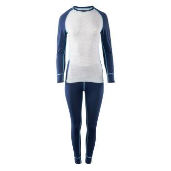 Фото Комплект термобелья LADY ALPINE SET (LADY ALPINE SET-INS BLU/MLNG), Цвет - синий, серый, бирюзовый, Комплекты термобелья