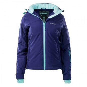 Фото Куртка горнолыжная LADY AZALEA (LADY AZALEA-ASTR AURA/AQ SPLSH), Цвет - темно-фиолетовый, бирюзовый, Горнолыжные и сноубордные