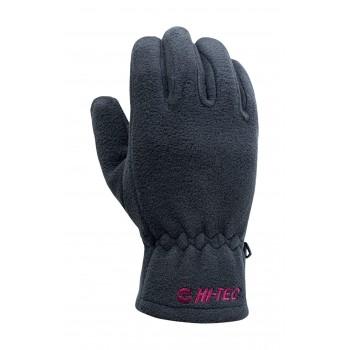 Фото Перчатки LADY BAGE (LADY BAGE-STRETCH LIMO/SANGRIA), Цвет - черный, фиолетовый, Перчатки