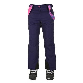 Фото Брюки горнолыжные LADY DRAVEN (LADY DRAVEN-AST AU/BLU IRI/ROS), Цвет - темно-фиолетовый, синий, розовый, Горнолыжные и сноубордные
