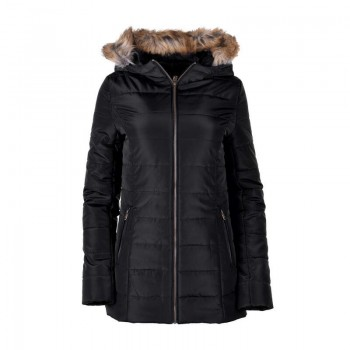 Фото Куртка стеганная LADY EVA (LADY EVA-BLK), Цвет - черный, Городские