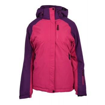 Фото Куртка горнолыжная LADY GASPE (LADY GASPE-FUCHSIA PURPLE/PASS), Цвет - розовый, пурпурный, Горнолыжные / сноубордные