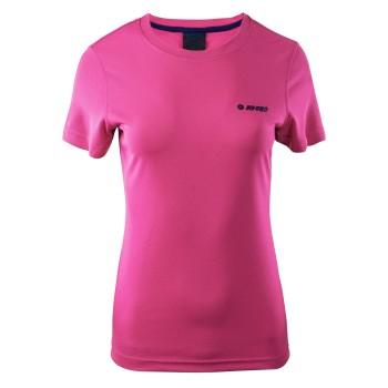 Фото Спортивная футболка LADY GOGGI (LADY GOGGI-BTRT PRPL/AST AURA), Цвет - розовый, Спортивные футболки