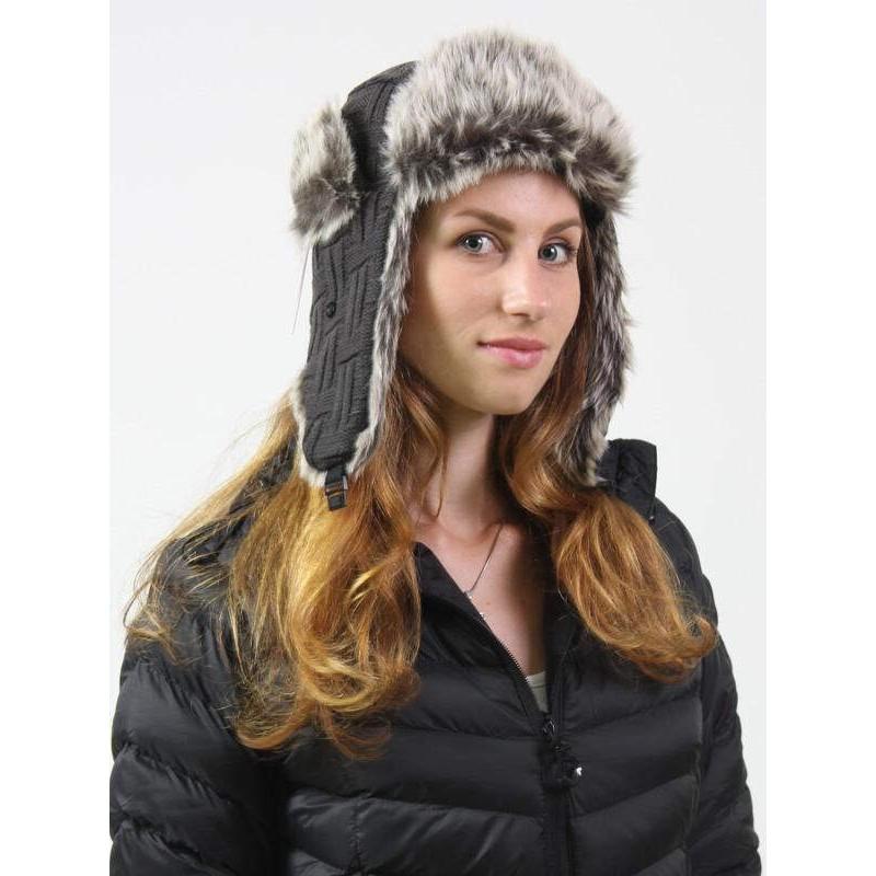 Теплая шапка-ушанка - marathon.ua
