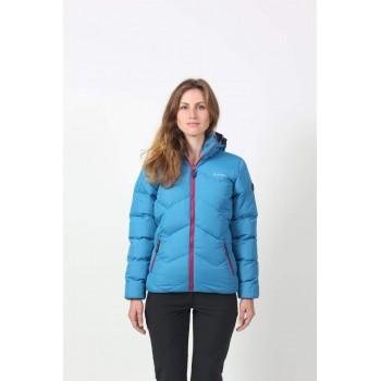 Фото Куртка стеганная LADY SOCHO (LADY SOCHO-CELESTIAL/BEAUJOL), Цвет - голубой, бордовый, Городские