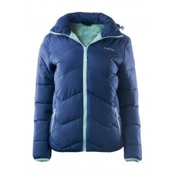 Фото Куртка стеганная LADY SOCHO (LADY SOCHO-IN BLU/AQ SPLSH), Цвет - синий, бирюзовый, Стеганные куртки