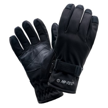 Фото Перчатки горнолыжные LANSA (LANSA-BLACK), Цвет - черный, Горнолыжные перчатки
