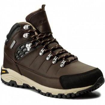 Фото Ботинки LOTSE MID WP (LOTSE MID WP-BROWN/BLACK/BEIGE), Цвет - коричневый, черный, бежевый, Городские ботинки