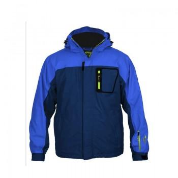 Фото Куртка горнолыжная NOBI (NOBI-BLU/INSIG BLU/YEL GRN), Цвет - синий, салатовый, Горнолыжные и сноубордные