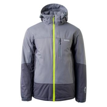 Фото Куртка горнолыжная OREBRO (OREBRO-SHADE/IRON/LIM PNCH), Цвет - темно-серый, серый, лайм, Горнолыжные и сноубордные