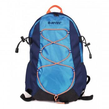 Фото Рюкзак PEK 18L (PEK 18L-BLUE/NAVY/ORANGE), Цвет - синий, темно-синий, оранжевый, Городские рюкзаки