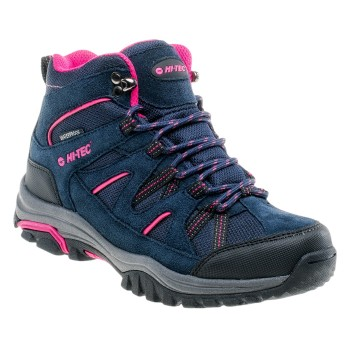 Фото Ботинки RAPOSO MID WP WO'S (RAPOSO MID WP WOS-NAV/FCHS/GRE), Цвет - темно-синий, розовый, серый, Городские ботинки
