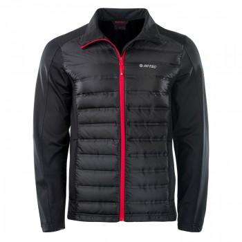 Фото Куртка стеганная RENDER (RENDER-BLACK/HIGH RISK RED), Цвет - черный, красный, Стеганные куртки