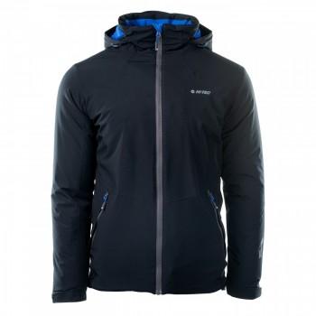 Фото Куртка утепленная SAFFLE (SAFFLE-ANTHRACITE/VICTORIA BLU), Цвет - черный, голубой, Городские