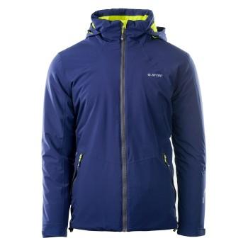 Фото Куртка утепленная SAFFLE (SAFFLE-PATRIOT BLUE/LIME PUNCH), Цвет - синий, лайм, Городские