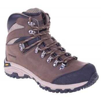 Фото Ботинки SAJAMA MID WP (SAJAMA MID WP-BRN/BLK/SAND), Цвет - коричневый, черный, песочный, Треккинговые ботинки