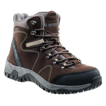 Фото Ботинки SAJAMA MID WP (SALADO MID WP-BRN/BLK/DK GRE), Цвет - коричневый, черный, бежевый, Городские ботинки