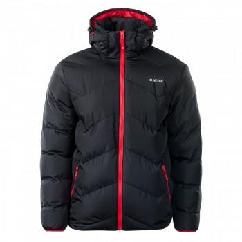 Фото Куртка стеганная SOCHO (SOCHO-ANTHRACITE/HIGH RISK RED), Цвет - черный, красный, Стеганные куртки