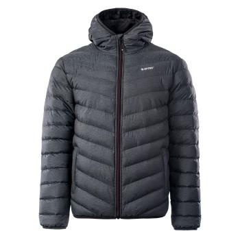 Фото Куртка стеганная SORNE (SORNE-EBONY MELANGE/ANTHR/MERL), Цвет - темно-серый, Стеганые куртки