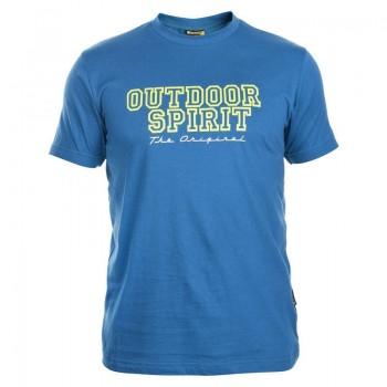 Фото Футболка SPIRIT (SPIRIT-EMERALD BLUE), Цвет - изумрудный голубой, Футболки