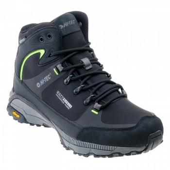 Фото Ботинки TORNE MID WP (TORNE MID WP-BLK/MID GRE/LIME), Цвет - черный, серый, лайм, Городские ботинки