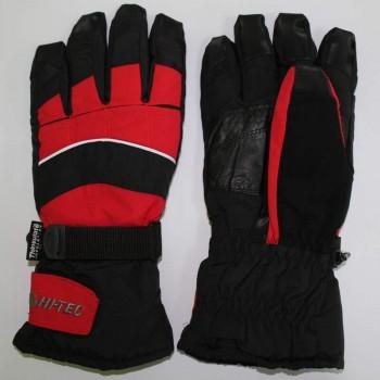 Фото Перчатки PRATOSH (PRATOSH-BLK/BLK/RED), Цвет - черный, красный, Горнолыжные перчатки