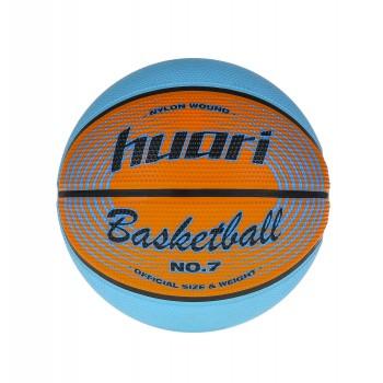 Фото Мяч баскетбольный LEBRON (LEBRON-RED ORANGE/LIGHT BLUE), Цвет - оранжевый, синий, Баскетбольные мячи