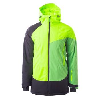 Фото Куртка с/б IMIR (IMIR-GALLES/SMILE/ANTHRACITE), Цвет - зеленый, черный, Горнолыжные и сноубордные