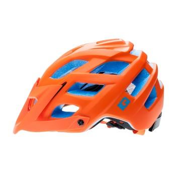 Фото Шлем ENDURO ONE (ENDURO ONE-RED ORANGE/BLUE), Цвет - синий, оранжевый, Шлемы