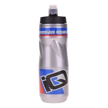 Фото Бутылка IZVOR (IZVOR-SILVER/BLACK/BLUE), Цвет - серебряный, чорный, голубой, Бутылки
