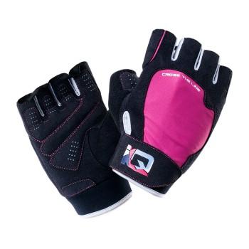 Фото Перчатки MILL (MILL-BLACK/PINK YARROW/WHITE), Цвет - черный, розовый, Перчатки