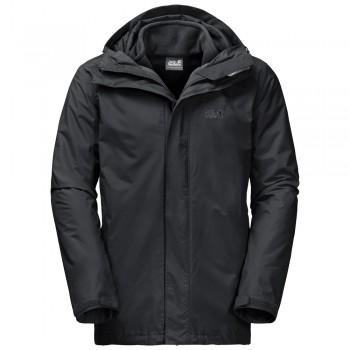 Фото Куртка 3 в 1 ICELAND 3IN1 MEN (1105743-6000), Цвет - черный, Куртки 3 в 1
