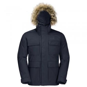 Фото Куртка утепленная POINT BARROW (1108153-1010), Цвет - темно-синий, Городские куртки