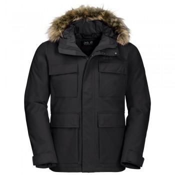 Фото Куртка утепленная POINT BARROW (1108153-6000), Цвет - черный, Городские куртки