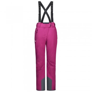 Фото Горнолыжные брюки EXOLIGHT PANTS WOMEN (1109242-2047), Цвет - фуксия, Горнолыжные и сноубордные