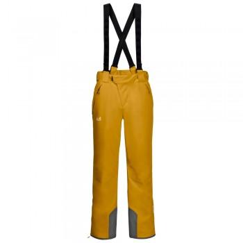 Фото Горнолыжные брюки EXOLIGHT PANTS MEN (1109502-3015), Цвет - желтый, Горнолыжные и сноубордные
