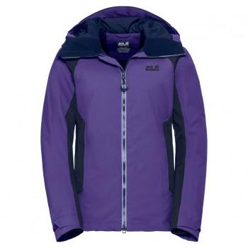 Фото Куртка горнолыжная EXOLIGHT BASE JACKET WOMEN (1109741-1642), Цвет - темно-фиолетовый, Горнолыжные и сноубордные