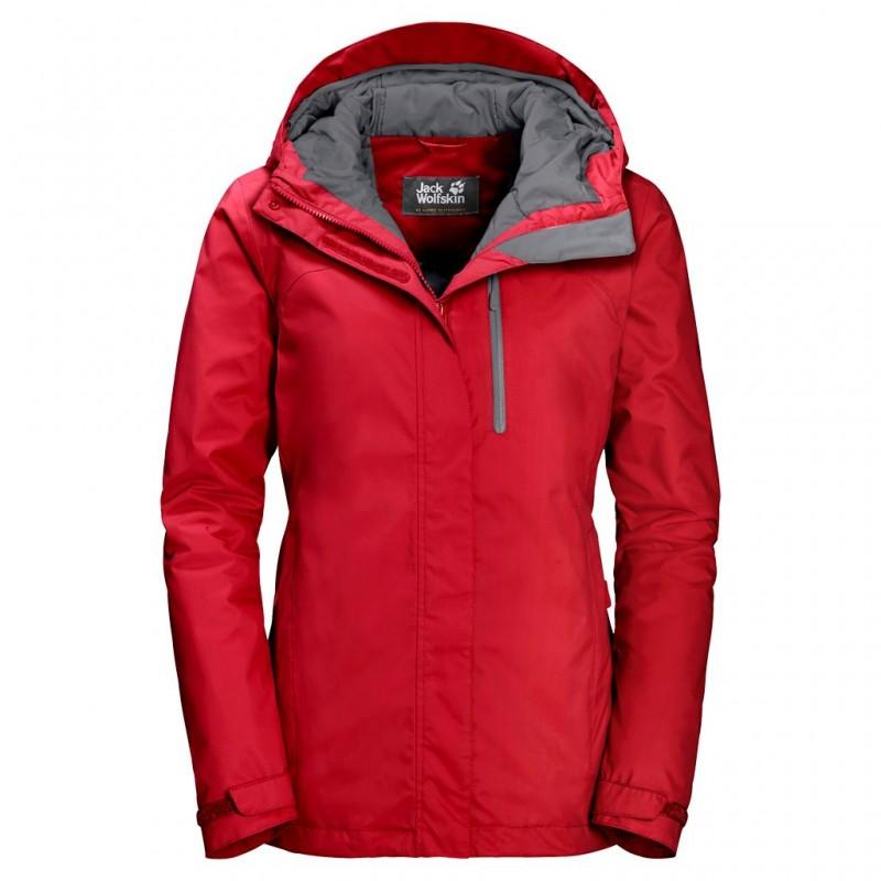 Женская красная лыжная куртка - marathon.ua